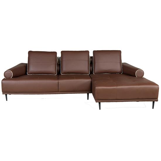 Sofa góc bọc da hòa phát SF602