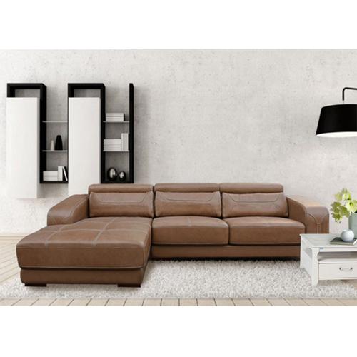 Sofa phòng khách bọc da hòa phát SF107A