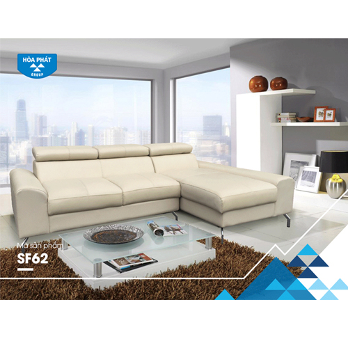 Sofa góc phòng khách hòa phát SF62