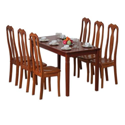 Bộ bàn ghế ăn 6 người TB03, TGA01