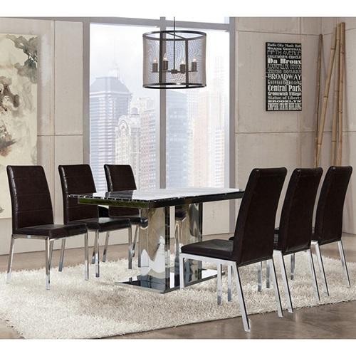 Bộ bàn ghế ăn 6 người B61, G61