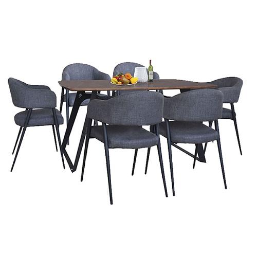Bộ bàn ghế ăn 6 người B64, G64