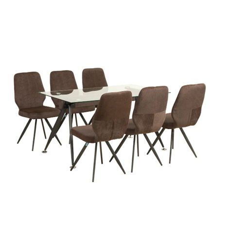 Bộ bàn ghế ăn 6 người B65, G65