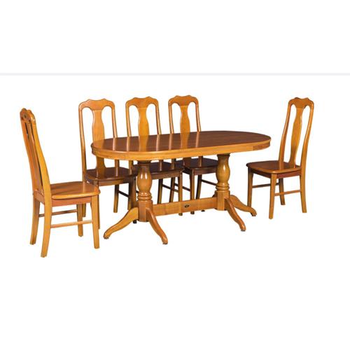 Bộ bàn ghế ăn 6 người TB06, TGA01