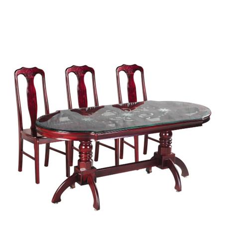 Bộ bàn ghế ăn 6 người TB10, TGA01