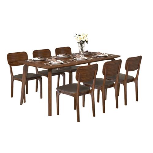 Bộ bàn ghế ăn 6 người BA504A, GA504