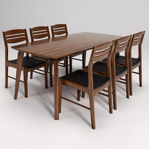 Bộ bàn ghế ăn 6 người BA505A, GA505