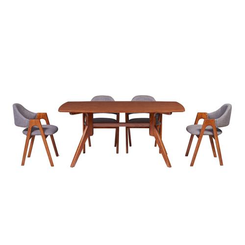 Bộ bàn ghế ăn 6 người HGB79A, HGB79