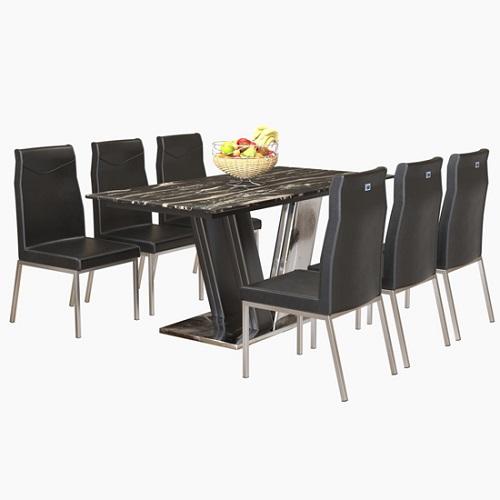 Bộ bàn ghế ăn 6 người B63, G63